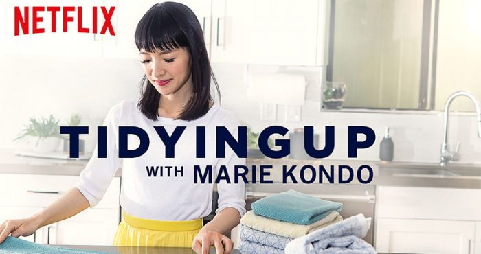Tidying Up with Marie Kondo show on netflix