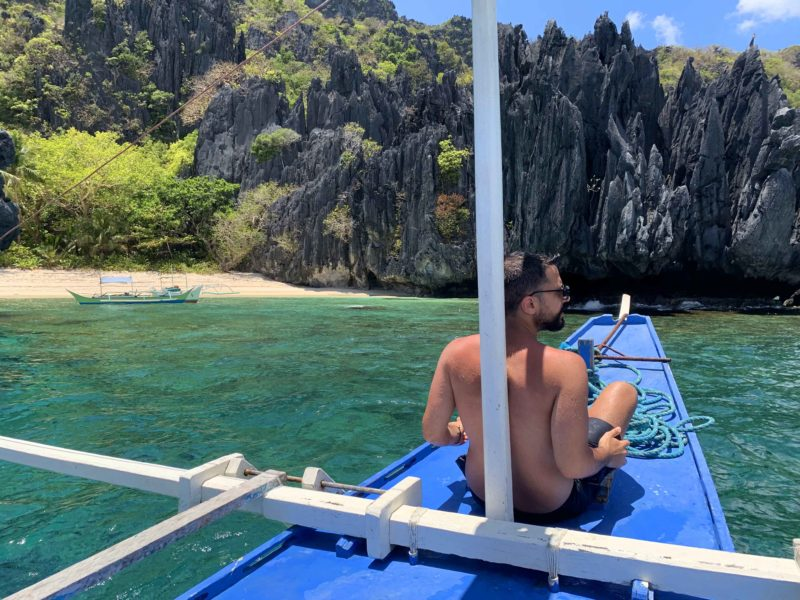 Philippines boat ride in Bohol