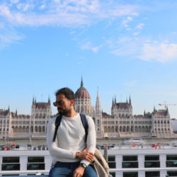 Budapest with Parliament view